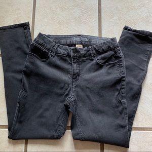 Faded Glory size 12 skinny black jeans